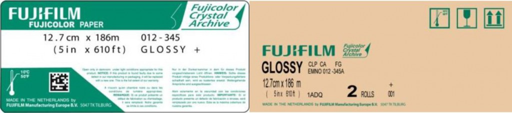 Fujicolor Crystal Archive Paper