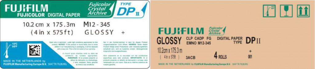 Fujicolor Crystal Archive Paper Digital Type DP II